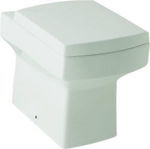 Embrace Back to Wall WC Pan Toilet With Soft Close Seat