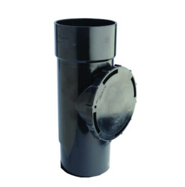 110mm Access Pipe Black