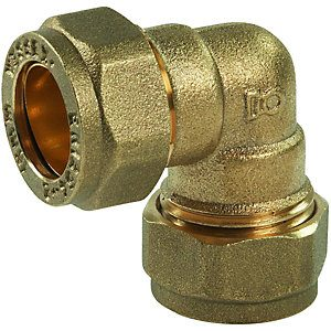 54mm Brass Compression Elbow Various Quantities