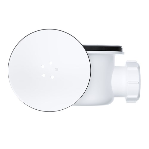 90MM Shower Trap With Chrome Cover