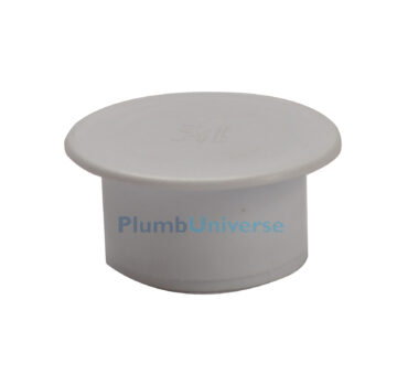 40mm End Cap White