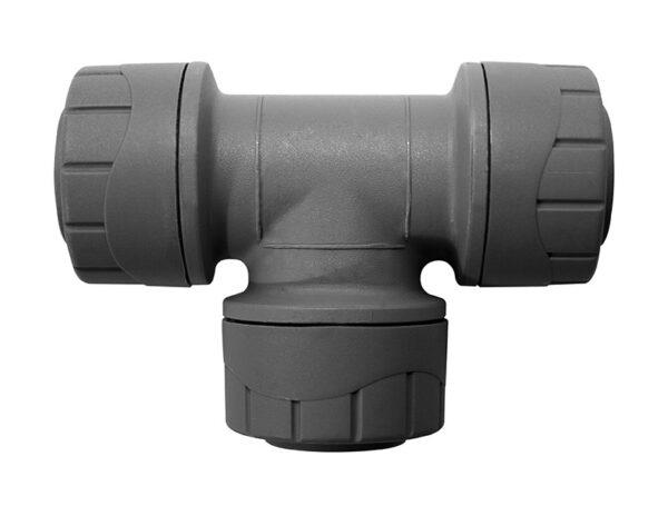 28mm Equal Tee  5 Pack PolyPlumb