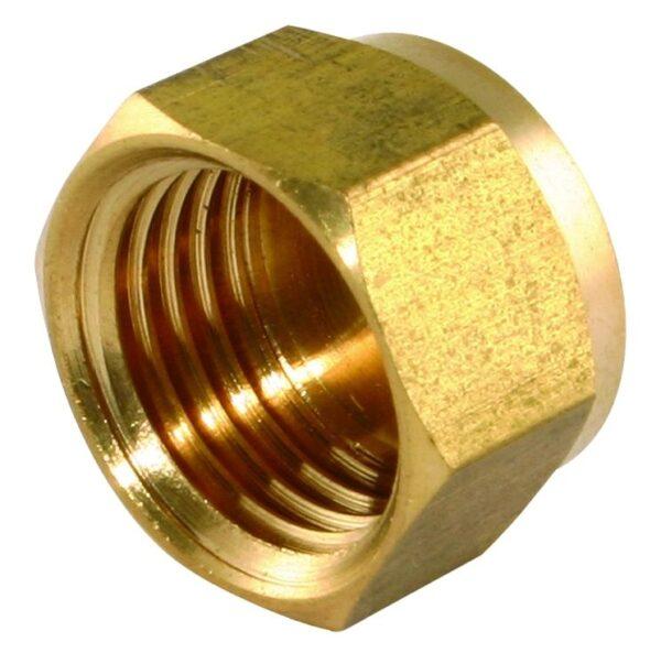"""1"""" BSP Brass End Cap"""
