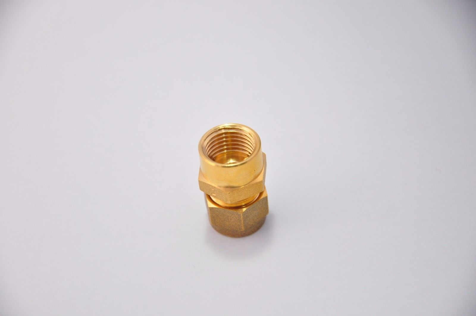 "Buy 8mm Compression X 1/4"" BSP Female Adaptor Brass"