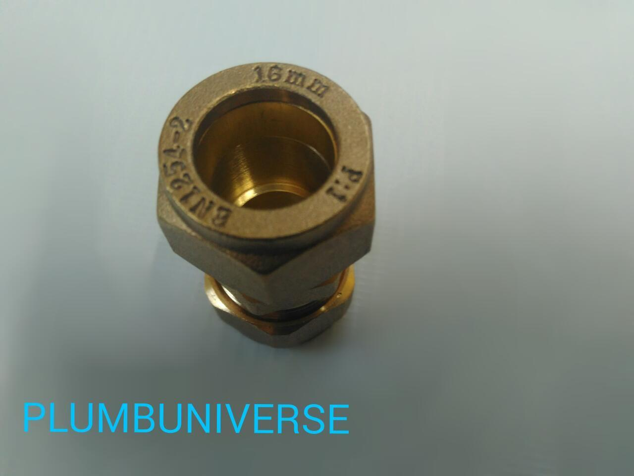 Buy mm brass compression reducer straight coupler