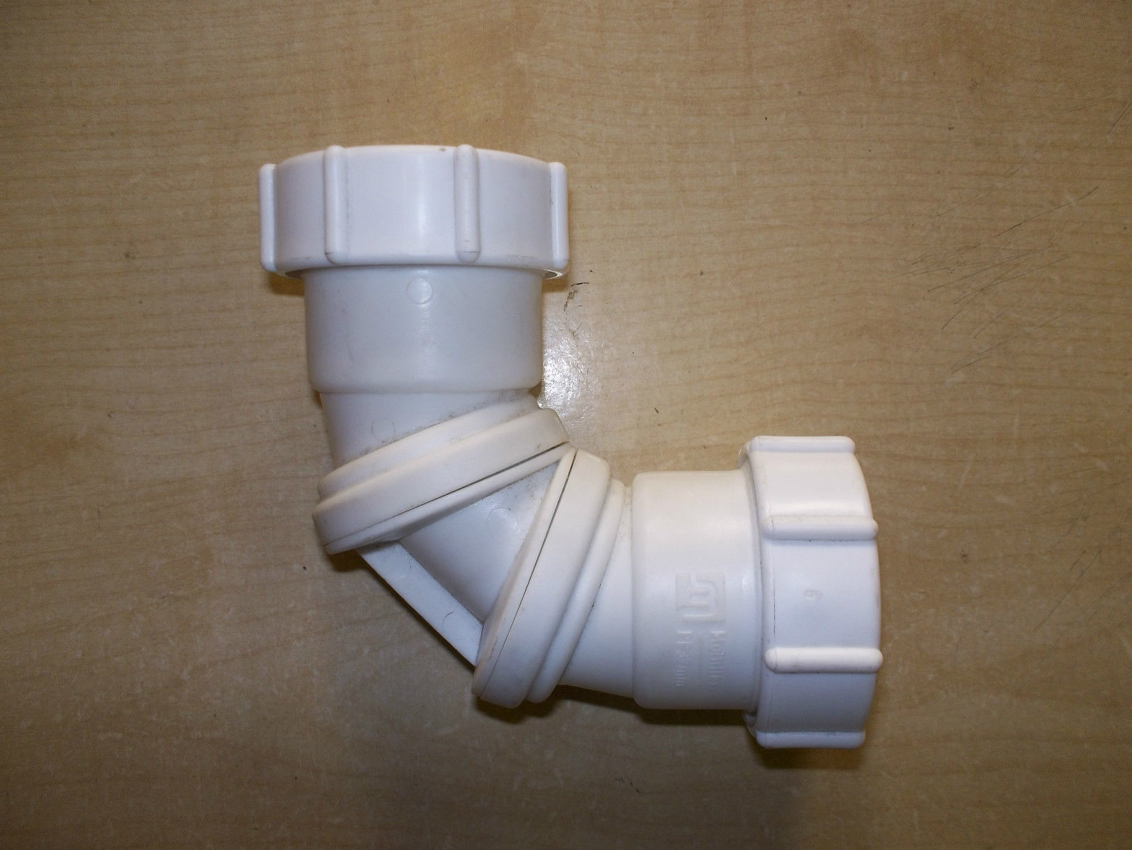 Buy mm quot white adjustable flexible waste pipe